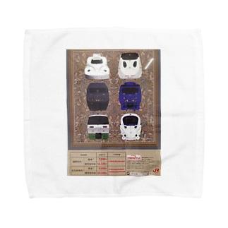 九州の鉄道 Towel handkerchiefs