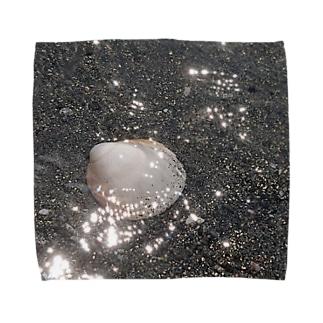 海と貝と Towel handkerchiefs