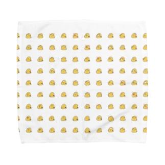鳥餅はんかち Towel handkerchiefs