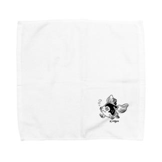 きんぎょちゃん Towel handkerchiefs