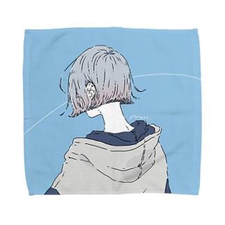 君空タオルハンカチ Towel handkerchiefs
