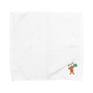 タングン☆ニンジン☆ Towel handkerchiefs