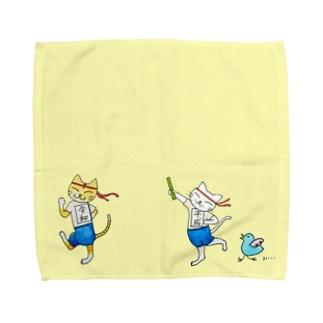 改元記念 ごま と しま Lサイズ Towel handkerchiefs