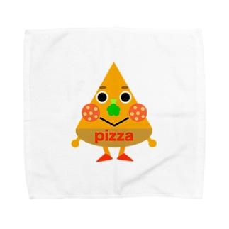 ピザくん Towel handkerchiefs