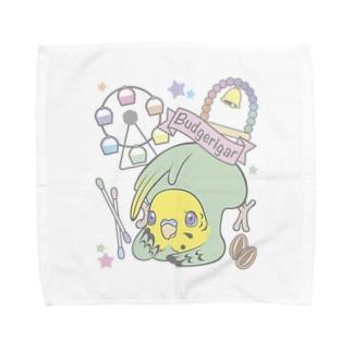 夢みるインコ Towel handkerchiefs
