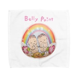 双子の赤ちゃん Towel handkerchiefs