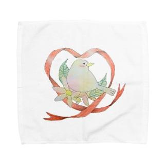 小鳥ちゃん Towel handkerchiefs