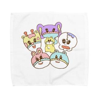 ふぁみ類。 Towel handkerchiefs