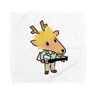 イケてるベースマン Towel handkerchiefs