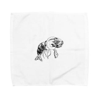 シャコ魚 Towel handkerchiefs