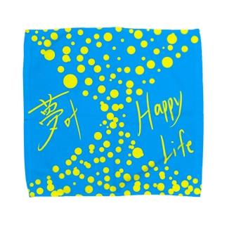 夢叶 Happy Life Towel handkerchiefs