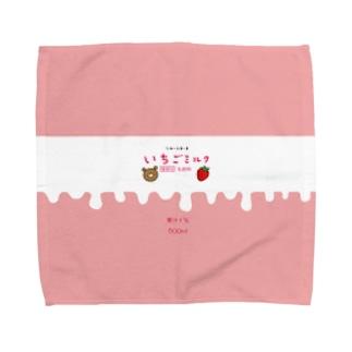 とろける甘さのいちごミルク Towel handkerchiefs