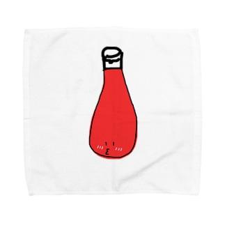 照れ屋のケチャップ Towel handkerchiefs