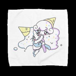 爆走天使はるまきの購入しないでください Towel handkerchiefs