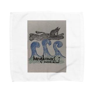 でぶハナコ Towel handkerchiefs