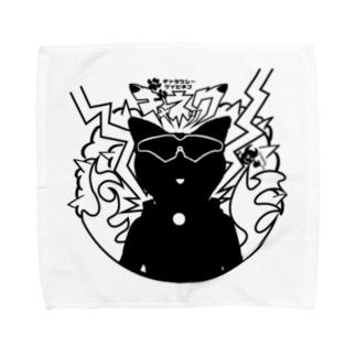 ギャネックシルエット Towel handkerchiefs