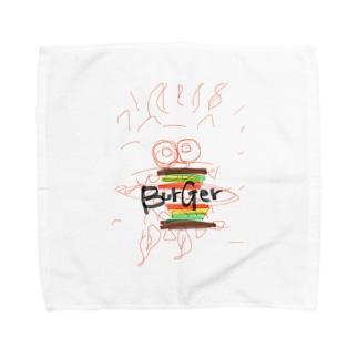 バーガーシーサー Towel handkerchiefs