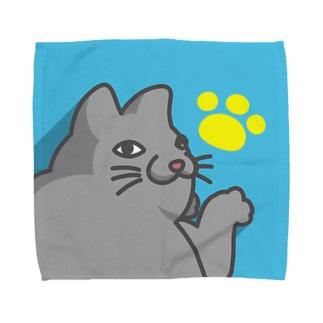 細々のみゃ~ご Towel handkerchiefs