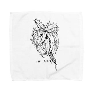 Goehringii(ゴエリンギー) ボタニカルアート Towel handkerchiefs