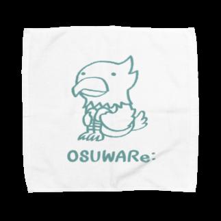 OSUWARe:のワシさん Towel handkerchiefs