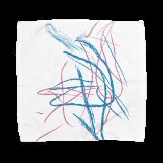 irodoruhanaのdrawing Towel handkerchiefs