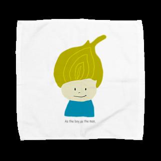 Zakuro-KayokoKawataのタマネギ坊や Towel handkerchiefs