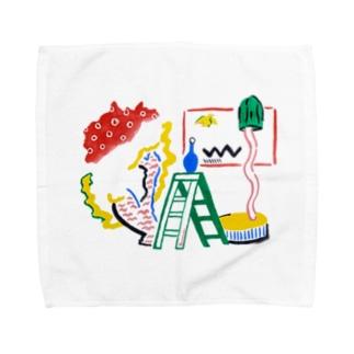 スタジオ Towel handkerchiefs