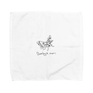 Bombyx mori Towel handkerchiefs