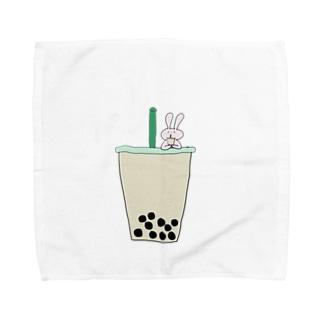 タピ飲みたい Towel handkerchiefs