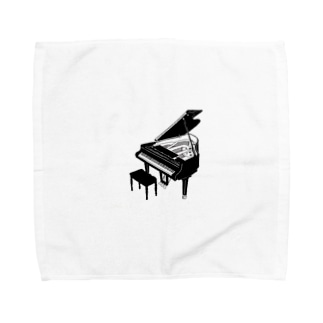 piano  Towel handkerchiefs
