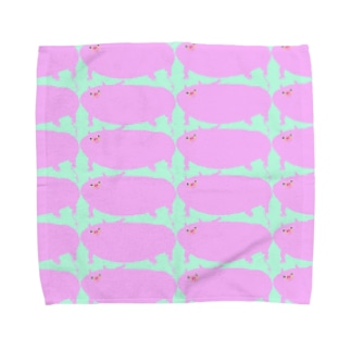 ぶたちゃんず Towel handkerchiefs