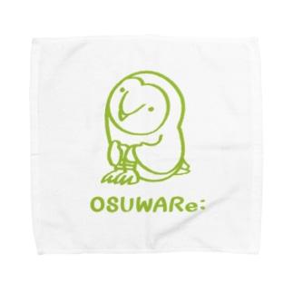 メンフクロウさん Towel handkerchiefs