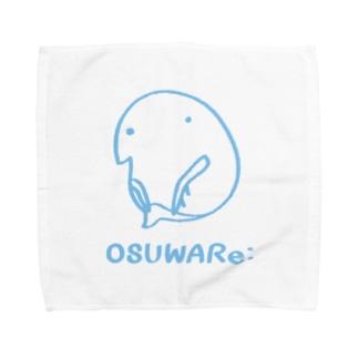 ミジンコくん Towel handkerchiefs