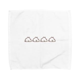 こねこパタパタ Towel handkerchiefs