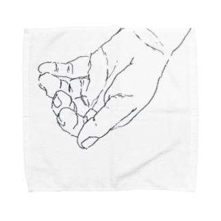 掬う手 Towel handkerchiefs