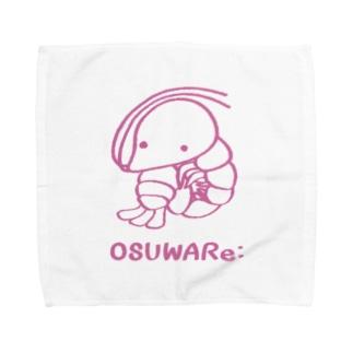 エビさん Towel handkerchiefs