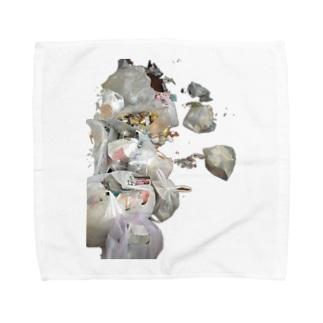 リサイクル Towel handkerchiefs