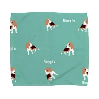 おすましビーグル Towel handkerchiefs