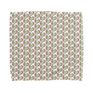 トロピカル モルモット Towel handkerchiefs