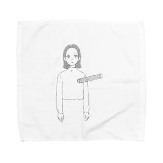 空洞〜 Towel handkerchiefs