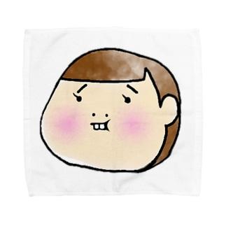 タムラの妹。 Towel handkerchiefs