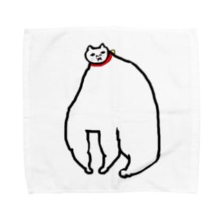 めっちゃ肥えた猫 Towel handkerchiefs