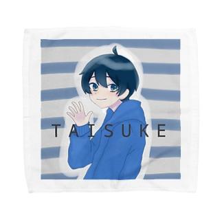 タイスケさんのあいこんだもんね Towel handkerchiefs