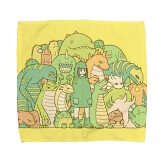 かいじゅう Towel handkerchiefs