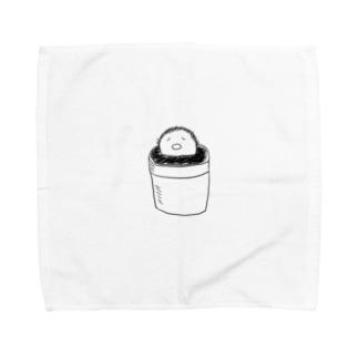 不思議なサボテン2 Towel handkerchiefs