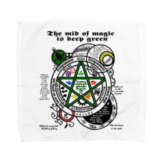 The mid magic_透過最新 Towel handkerchiefs