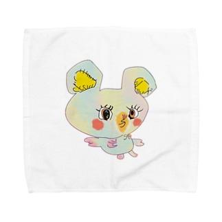ちゅっちゅちゃん Towel handkerchiefs