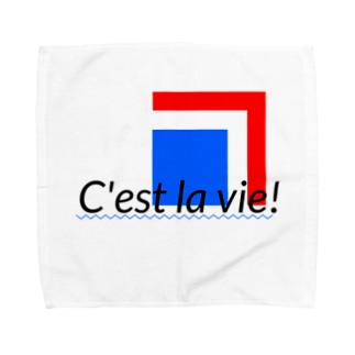 C'est la vie! Towel handkerchiefs