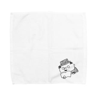 コーヒーと読書 Towel handkerchiefs