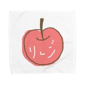 りんご Towel handkerchiefs